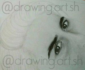 متد سیاه قلم طراحی چهره گالری شبنم
